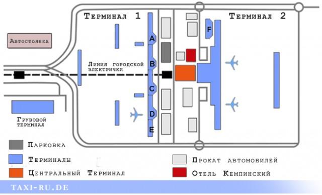 Аэропорт Мюнхена Терминал 1